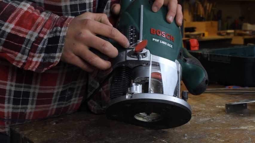 Feineinstellung der Bosch 1400 ACE