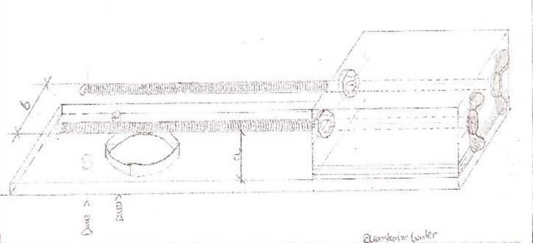 Tischverbreiterung fuer die Oberfraese selber bauen Zeichnung