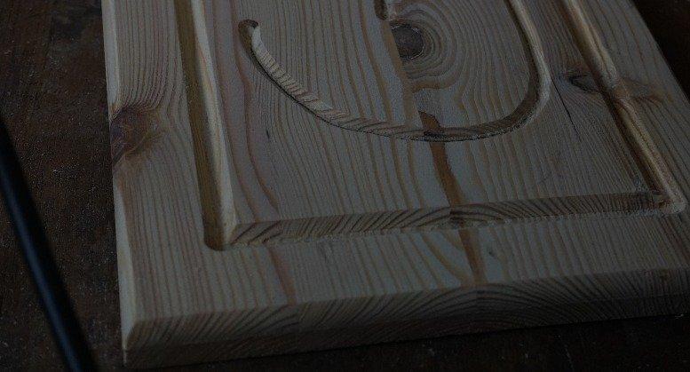 Holzkanten abrunden