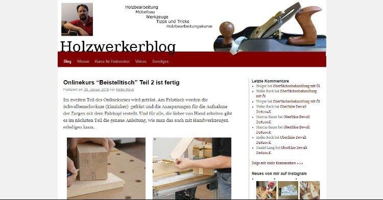 Holzwerkerblog