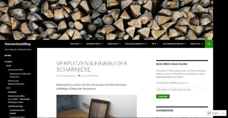 Holzwerkstattblog