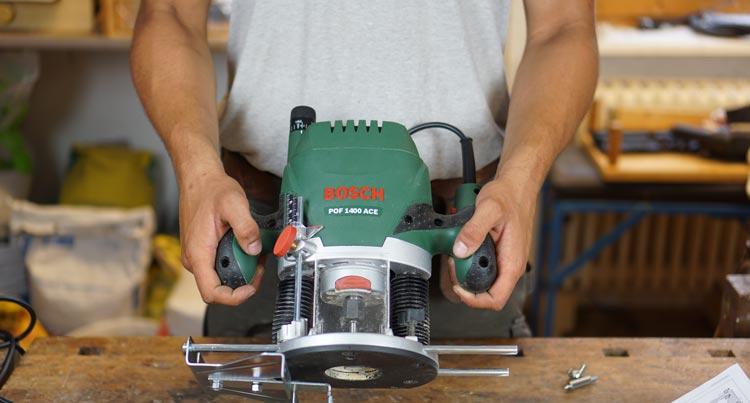 Bosch Oberfraese DIY