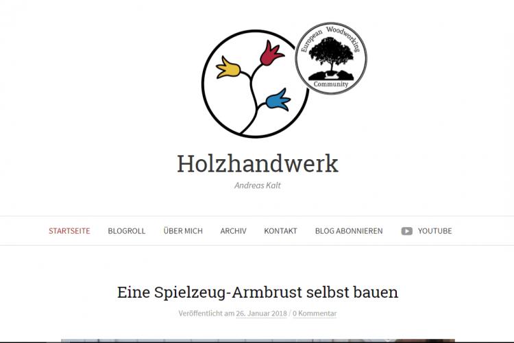 Holzhandwerk Blog